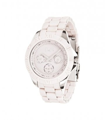 D    Watch - silver/rose