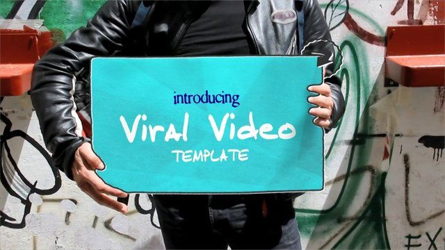 Viral Video After Effects template project, easy to customize! AE CS4 or above project