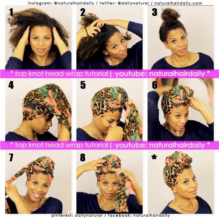 Astonishing 17 Best Images About Hair Scarves On Pinterest Head Scarfs Eva Short Hairstyles Gunalazisus
