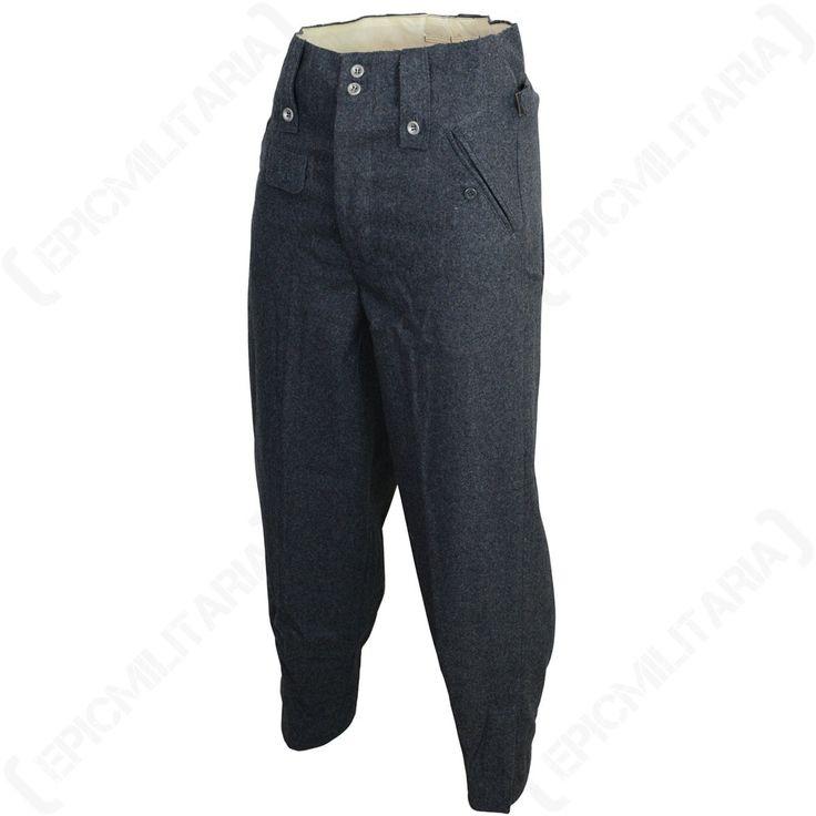WW2 Luftwaffe M43 Wool Trousers