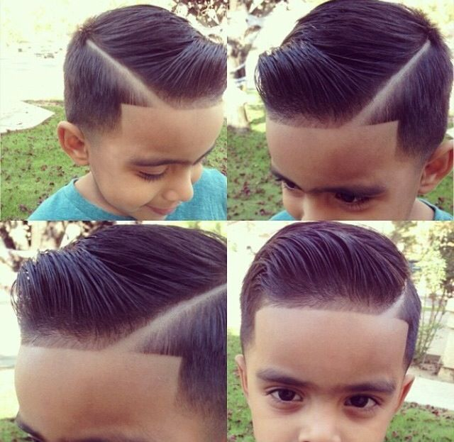 Pompadour Haircut Toddler : Stylish pompadour baby products kid