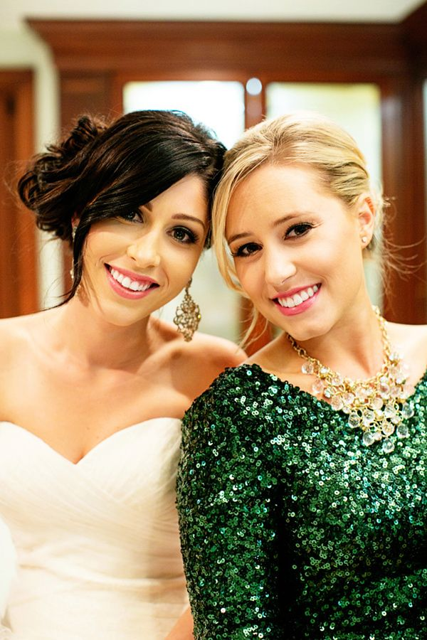 Emerald Sequin Bridesmaid Dress Love Green 2017 Color Of The Year Pinterest Dresses And