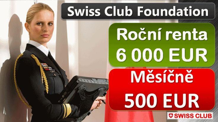 Nadace Swiss Club  -  co, proč a jak dál?