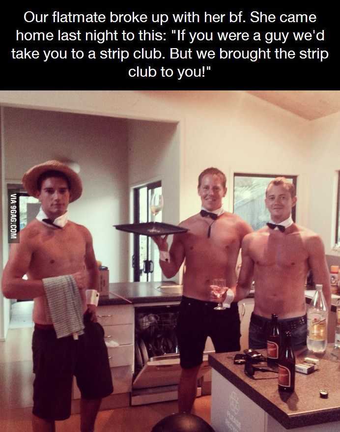 Sweet Friends, where can I find roommates like these?