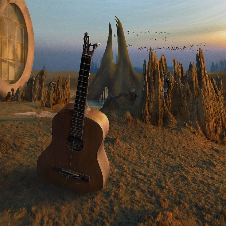 Jeziorsko / Fotoklimat / Fotografia / Konceptualna urrealizm, fotomontaż, fotografia, fantazja, fantasy, kolor, światło, promienie, słońce