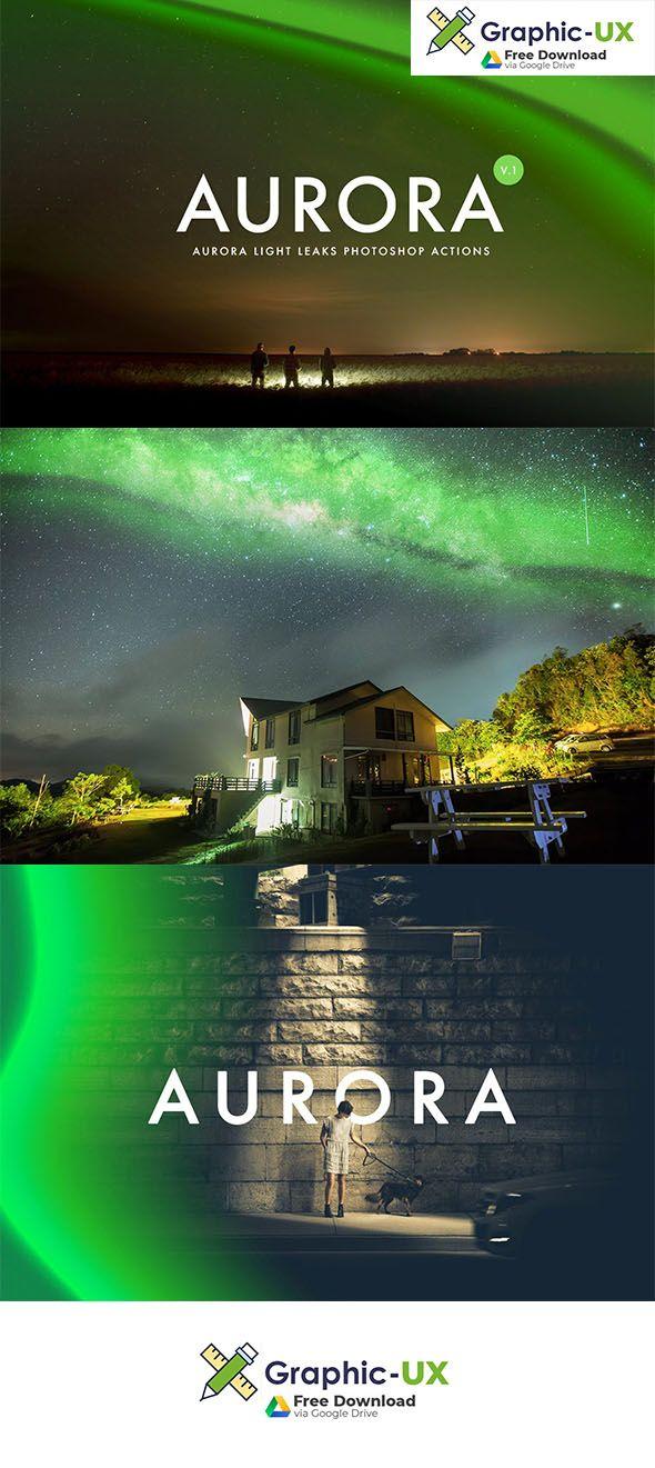 Aurora Light Photoshop Action Free Download Free Photoshop