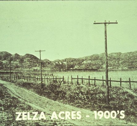 Throughout the early twentieth century, the San Fernando Valley was farmland; wheat, avocados, oranges, and squash grew in abundance. Founded in 1910 along the Southern Pacific Railroad in the northwest San Fernando Valley, it was among the early housing tracts carved from the former Mission Rancho San Fernando lands. The post office and train depot were renamed Northridge in 1938. Today, California State University, Northridge sits on a portion of that land. CSUN University Archives.