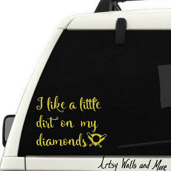 Best Car Window Decals Images On Pinterest Car Window Decals - Custom vinyl baseball decals