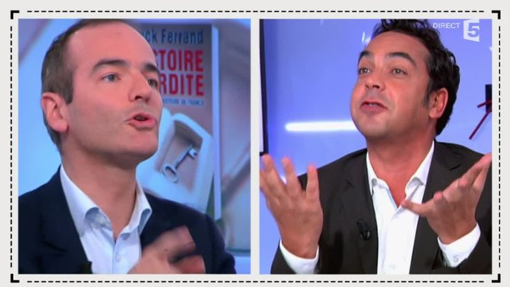 """Franck Ferrand face à Patrick Cohen, une """"histoire interdite"""" - C à vous..."""