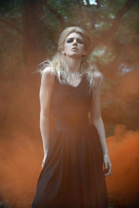 Dark Forest.  Photography www.kelliannephotographer.co.uk    Model: Hollie Swain  Hair and Make up: Louise Devaney  Styling: Rachel Smith