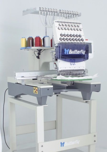 The Essential Package by Butterfly is the best priced commercial embroidery machine market. The Essential Package has all the basics such as the cap system,