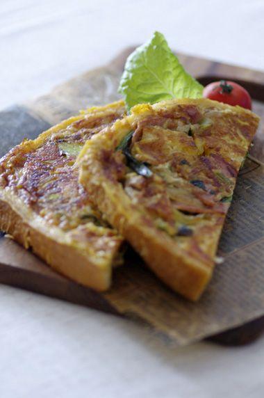 食パン×フライパンでキッシュ☆ | 美肌レシピ