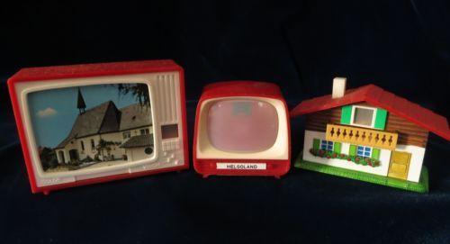 Plastiskop: Das Schwarzwaldhäuschen hatte ich - und einen Fernseher. Aber nicht genau den gleichen.