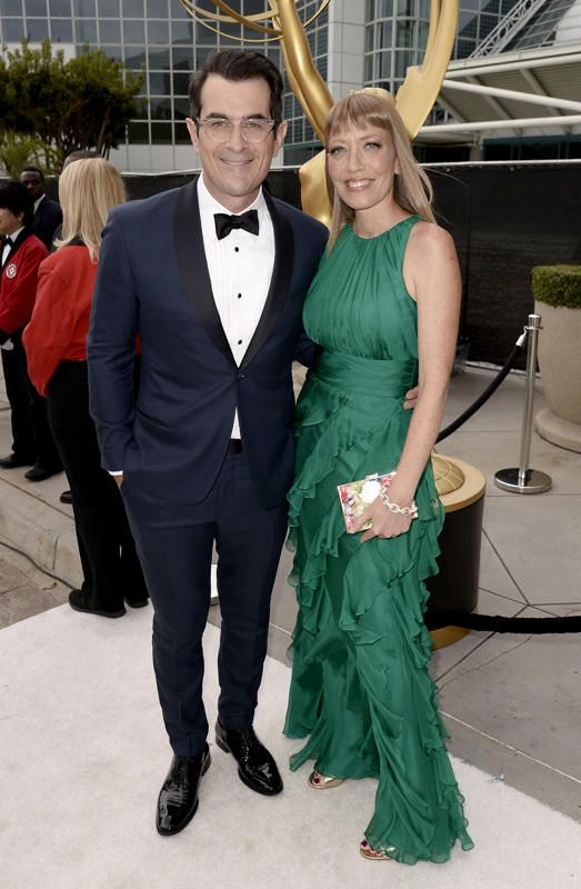 Ty Burrell and Holly Anne Brown #Emmys #Emmys2014 #Stylamerican