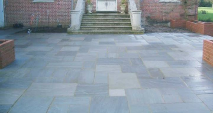 Kandla gray sandstone paving slabs are a very hard wearing stone, suitable for traditional or contemporary landscapes......