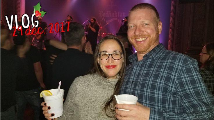 VLOG | 29-12-2017 On s'en va à Sherbrooke!