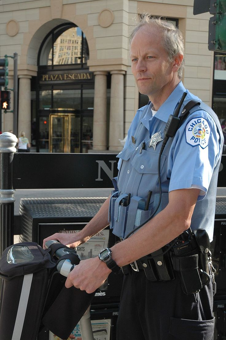 Chicago police officer on segway - Chicago Police Department - Wikipedia