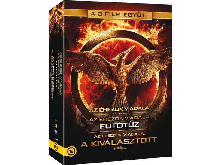 Az éhezők viadala 1-3. gyűjtemény (DVD) -      The Hunger Games 1-3 Collection