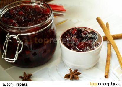Pikantní pečené švestky recept - TopRecepty.cz