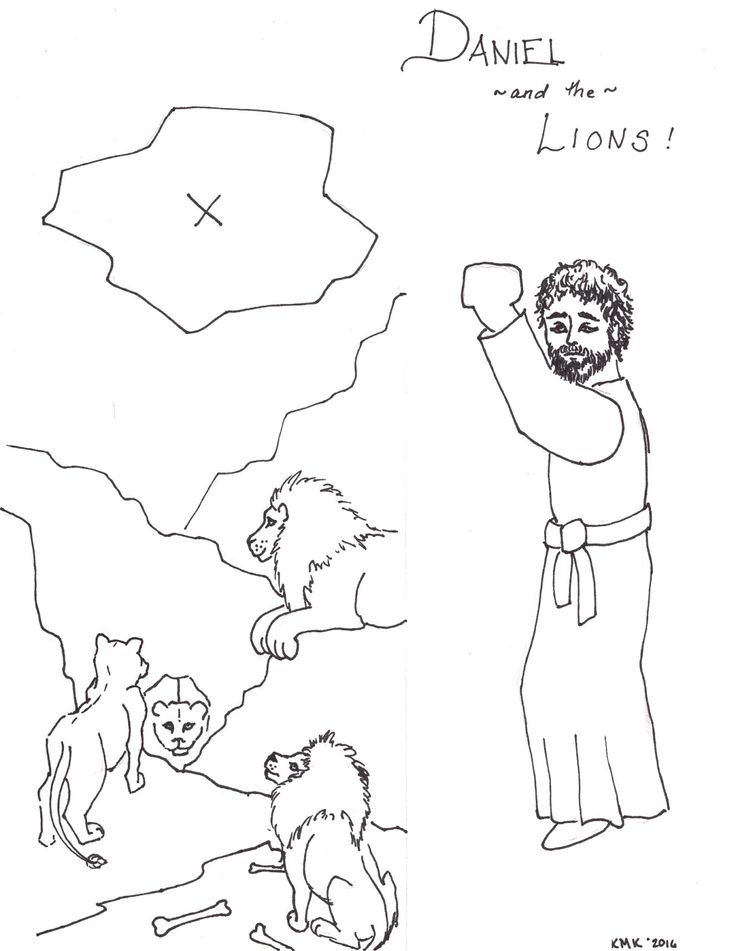 102 best images about on pinterest bible for Daniel and the lions den coloring pages