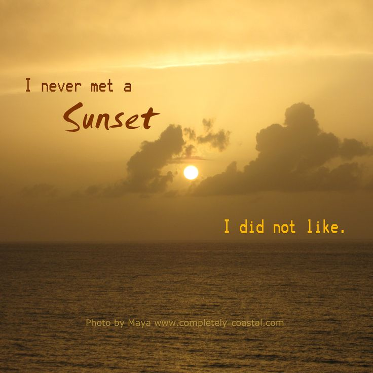 Amazing #sunset #quote