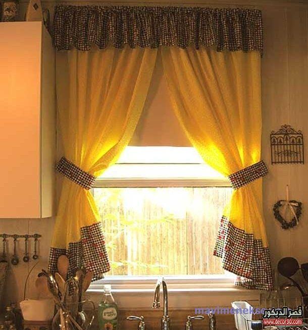 ستائر مطبخ بسيطة 2018 اشكال مودرن والوان حديثة قصر الديكور Holiday Room Classic Dining Room Modern Dining Room