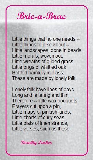 121 best Heroine - Dorothy Parker images on Pinterest Poems - dorothy parker resume