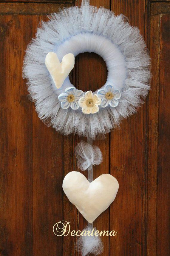 Eccezionale 26 best Fiocchi nascita images on Pinterest | Shabby chic style  TN19