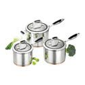 Scanpan Coppernox 3pc Saucepan Set - Best Price Guarantee