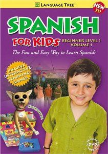 Spanish for Kids vol. 1 introduces Spanish is a way that kids will truly enjoy. Featuring 3D animation along with live action sequences, this DVD teaches basic conversational Spanish.Lessons include meeting and greeting, colors, numbers, clothing, and much more....