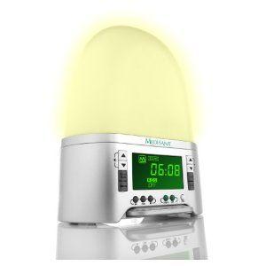 Medisana 45100 SAC Licht-Wecker mit künstlichem Sonnenaufgang und 8 natürlichen Klängen beste Angebot « Lichtwecker