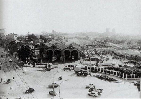 Plaza América, Traviesas. Vigo. 1968