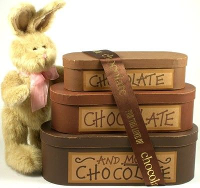 87 best easter ideas images on pinterest easter baskets happy gift basket village chocolate chocolate and more chocolate easter gift tower the name says it all this gift tower offers 3 keepsake gift boxes of assorted negle Images
