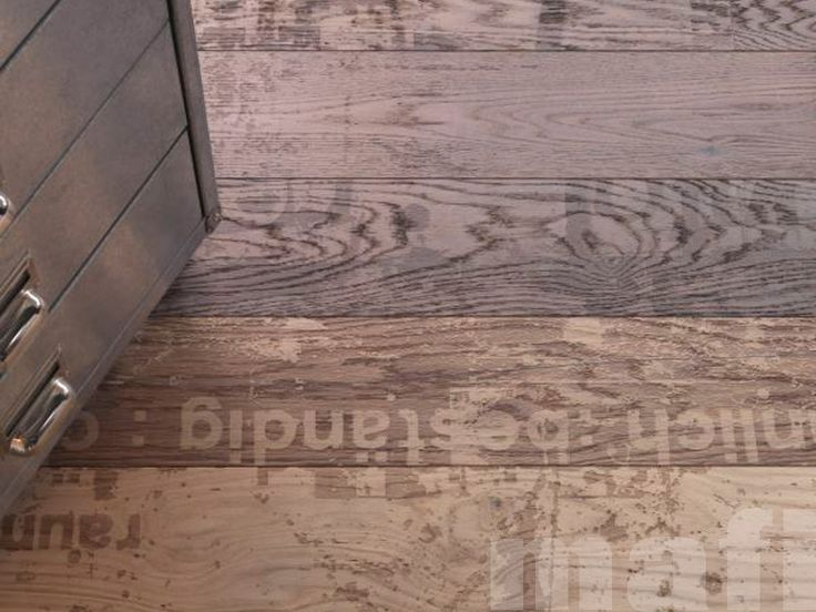 Wooden Flooring   Carving Grunge   Brushed White Oil   MAFI