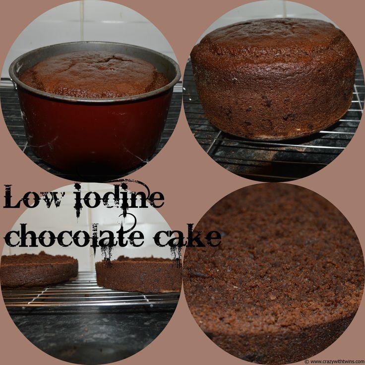 Dairy free, egg free, soya free, vegan, low sodium, low iodine chocolate Cake! #GreatBloggersBakeOff - Crazy With Twins