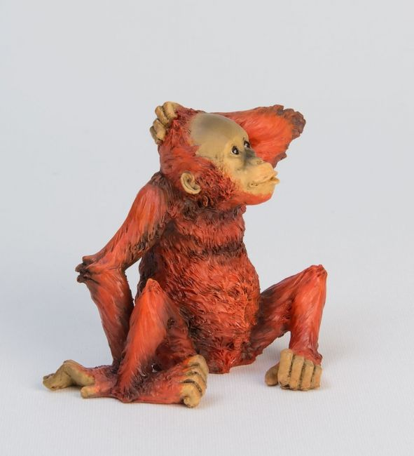 WS-762 Статуэтка Детеныш орангутанга 988309