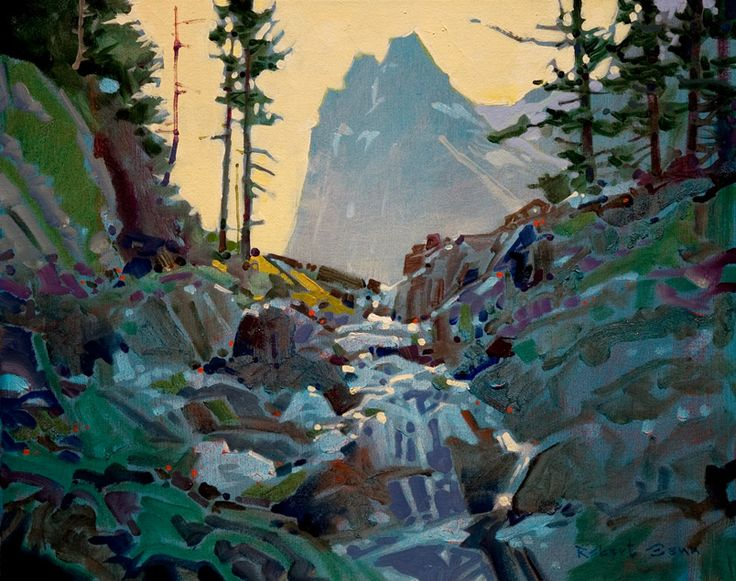 Just Before the McArthur Meadows, Yoho, by Robert Genn