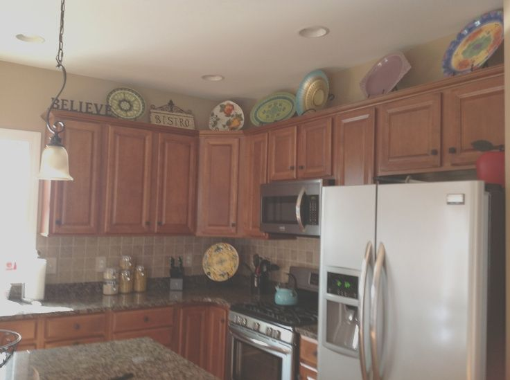19 Best Images About Kitchen Top Of Cabinets On Pinterest Decor Decorating Above