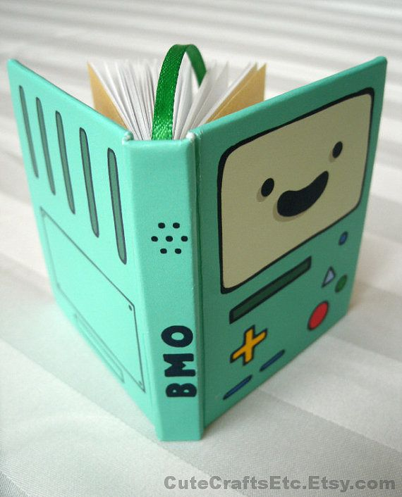BMO  Adventure Time MiniBook PREORDER Apr8 by CuteCraftsEtc, $17.00