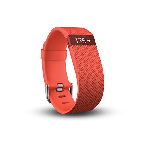 Fitbit Charge HR Wireless Activity Wristband, Tangerine, Large >>> Check this awesome image @ http://www.myvacationdestinations.com/fitness_store/fitbit-charge-hr-wireless-activity-wristband-tangerine-large/?hi=090716092336