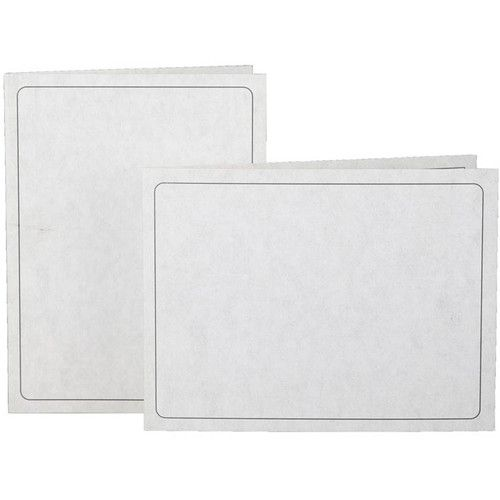 "National Photo Folders Slip-In Photo Folder (4 x 6"", 25-Pack, Gray)"