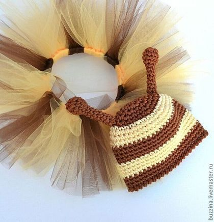 Купить или заказать Комплект для фотосессии Пчела юбочка пачка+шапочка в интернет-магазине на Ярмарке Мастеров. Комплект для фотосессий состоит из юбочки пачки туту и шапочки в виде пчелки . Это отличный аксессуар для фотосессий новорожденных.