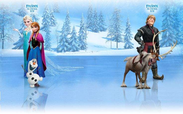 Disney Frozen Background | Related Pictures the frozen kiss frozen moon flowers fantasy lady kiss