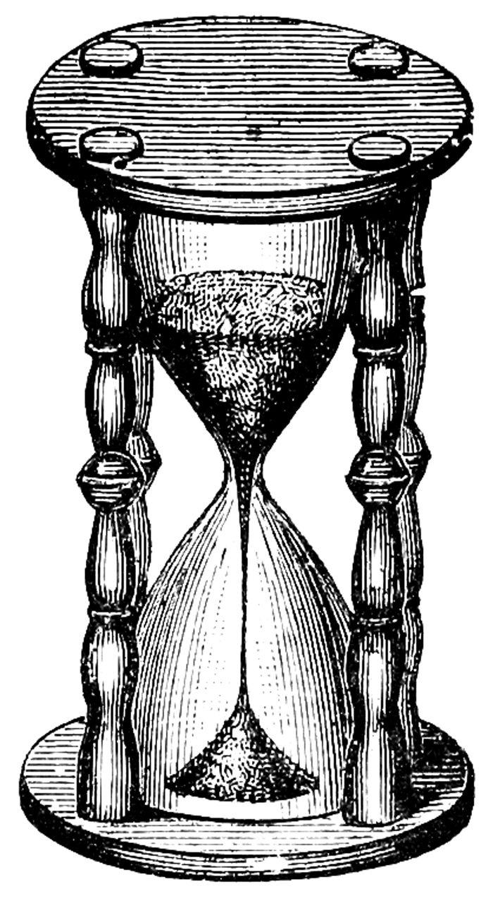 Время, Песочные Часы, Сбор Винограда, Часы