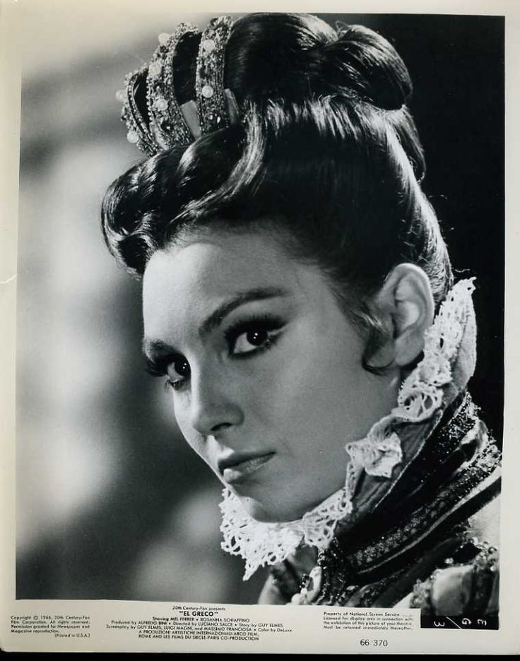 "Rosanna Schiaffino El Greco Original 8x10"" Photo J6755   eBay"