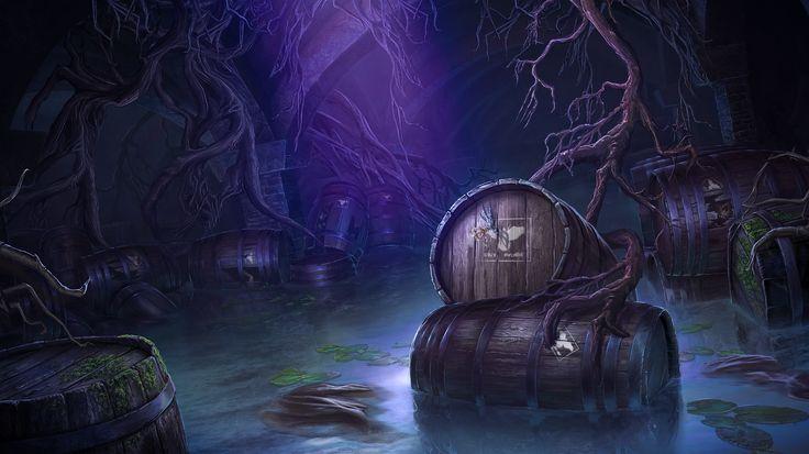 Enigmatis: The Mists of Ravenwood - Dungeon www.artifexmundi.com/page/enigmatis2 #barrel #underground #ravenwood #redwood #park #game #adventure https://www.facebook.com/ArtifexMundi.Enigmatis