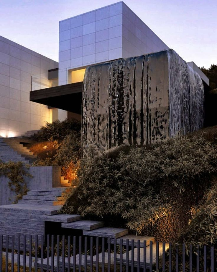 House of falling water eau arquitectura barcelona - Eau arquitectura ...