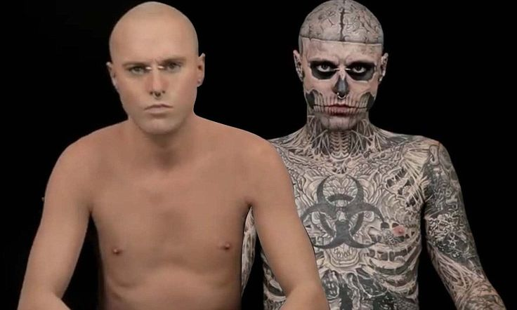 Zombie Boy As You Ve Never Seen Him Before With No