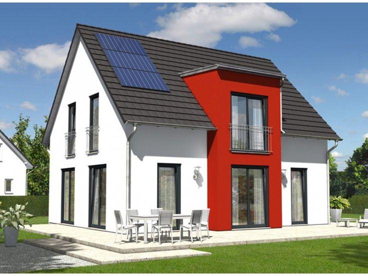 Lichthaus 121 einfamilienhaus von town country haus for Haus klinker modern