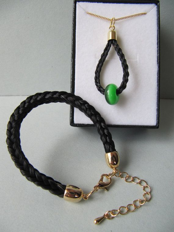 Horse Hair Jewelry Made From Sheba S Tail